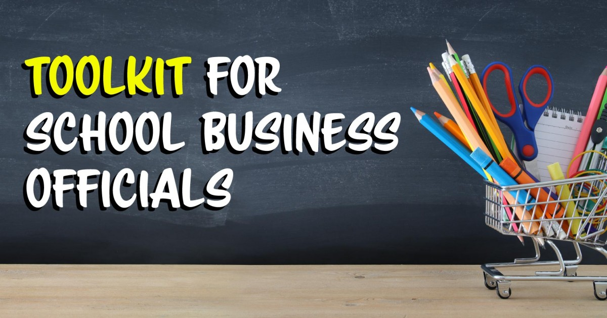 school business officials toolkit
